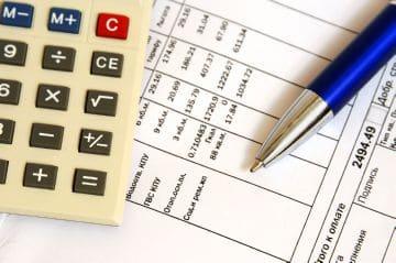 калькулятор и таблица расчета