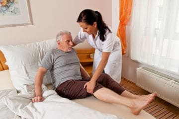 уход за пожилым человеком
