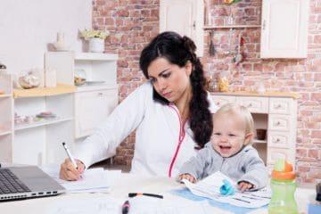 увольнение мамы с ребенком