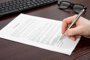 заполнение документов об увольнении