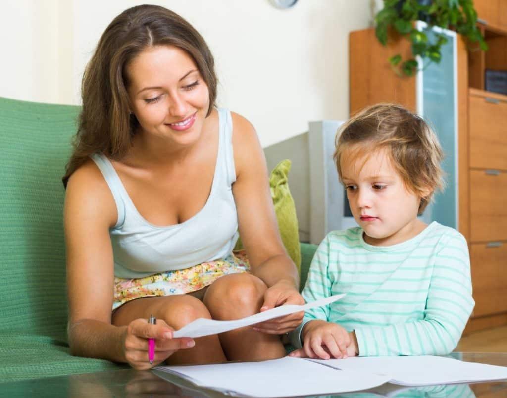 свидетельство о регистрации по месту жительства ребенка