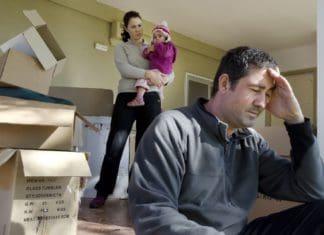 как делится имущество при разводе если есть несовершеннолетний ребенок