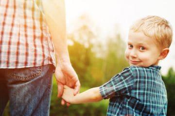пребывание детей с отцом