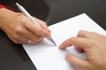 оформление документов в браке