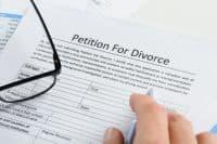 заявление на развод с детьми образец 2017