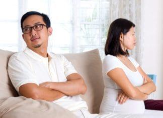 испытывал как проходит развод если жена беременна Что-то