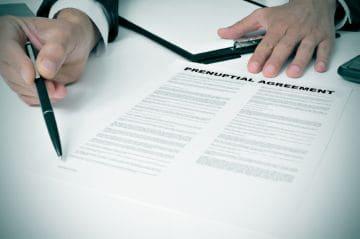 структура брачного договора