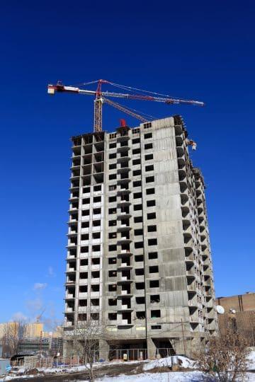 участок под строительство многоэтажки