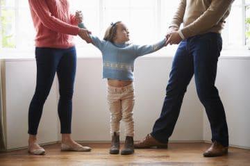 права на ребенка в случае развода