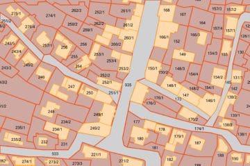кадастровая карта участков