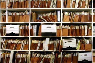 папки с важными документами