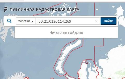 информация о земельном участке по кадастровой карте