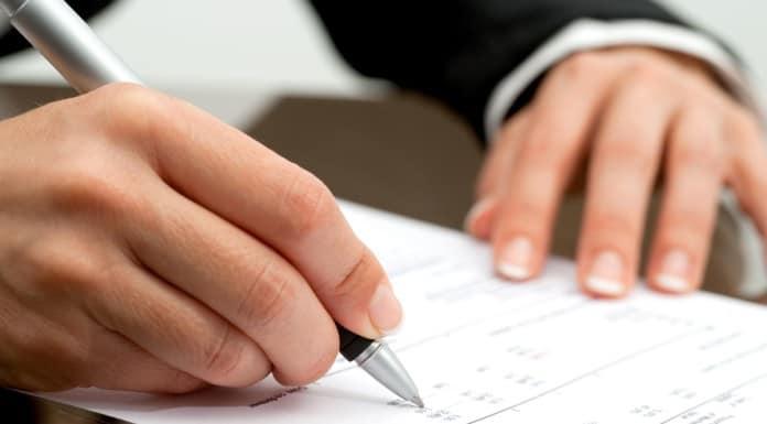 составление приказа об увольнении