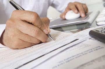 заполнение финансовых документов