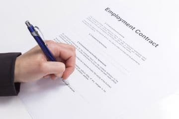 структура трудового договора