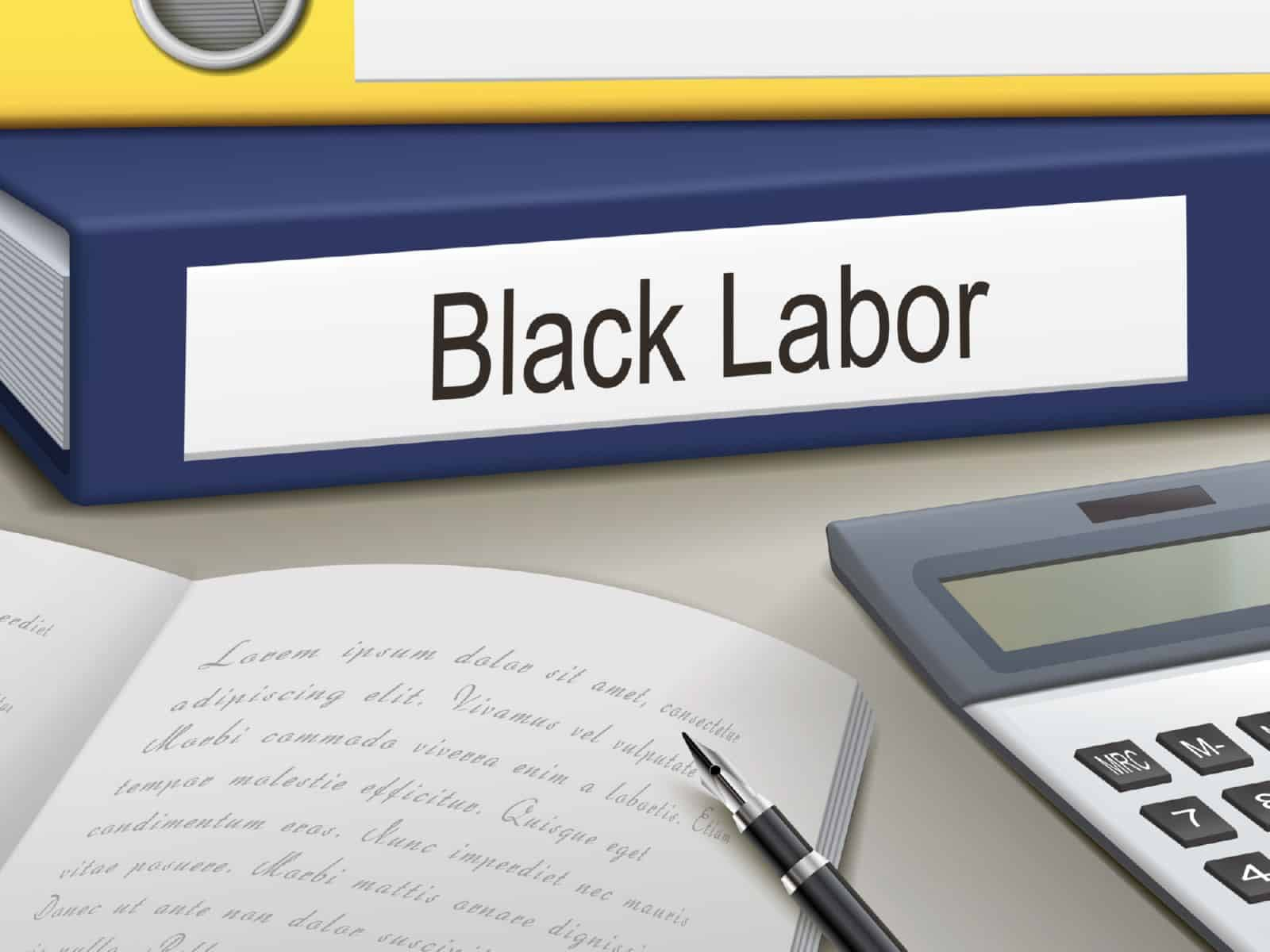 Работа без оформления трудового договора
