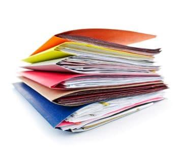 правила прошивки документов