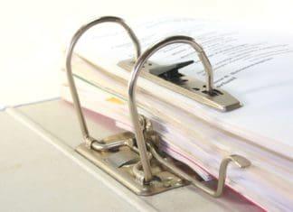 как сшивать документы нитками