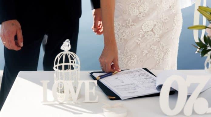 свидетельство о заключении брака образец