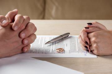 Документы для прекращения брака