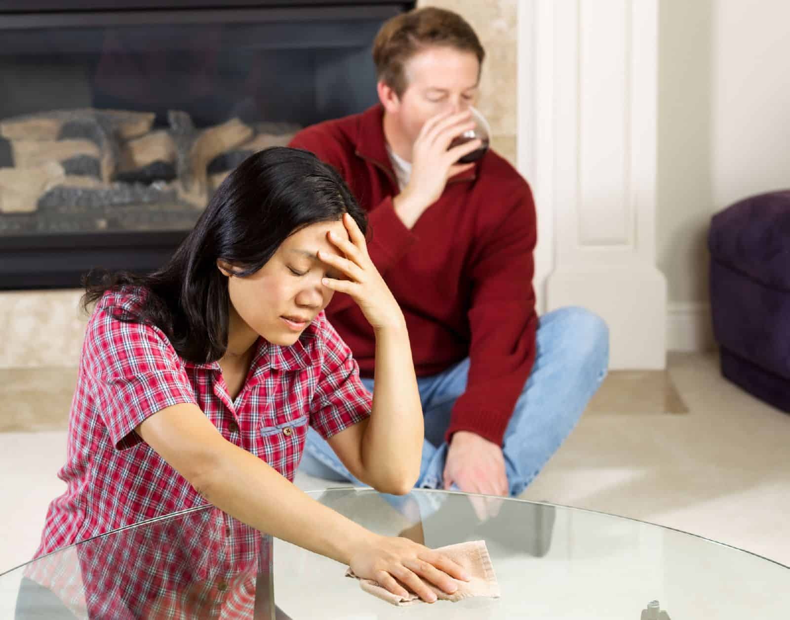 Как себя вести если муж алкоголик