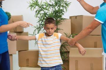 права ребенка при разделе имущества
