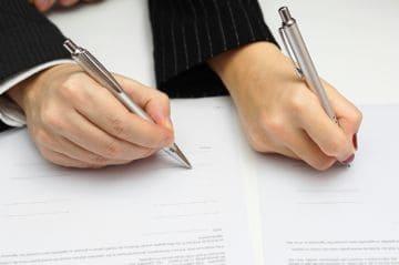 оформление документов при разделе имущества