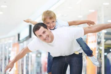 отец с сыном после развода