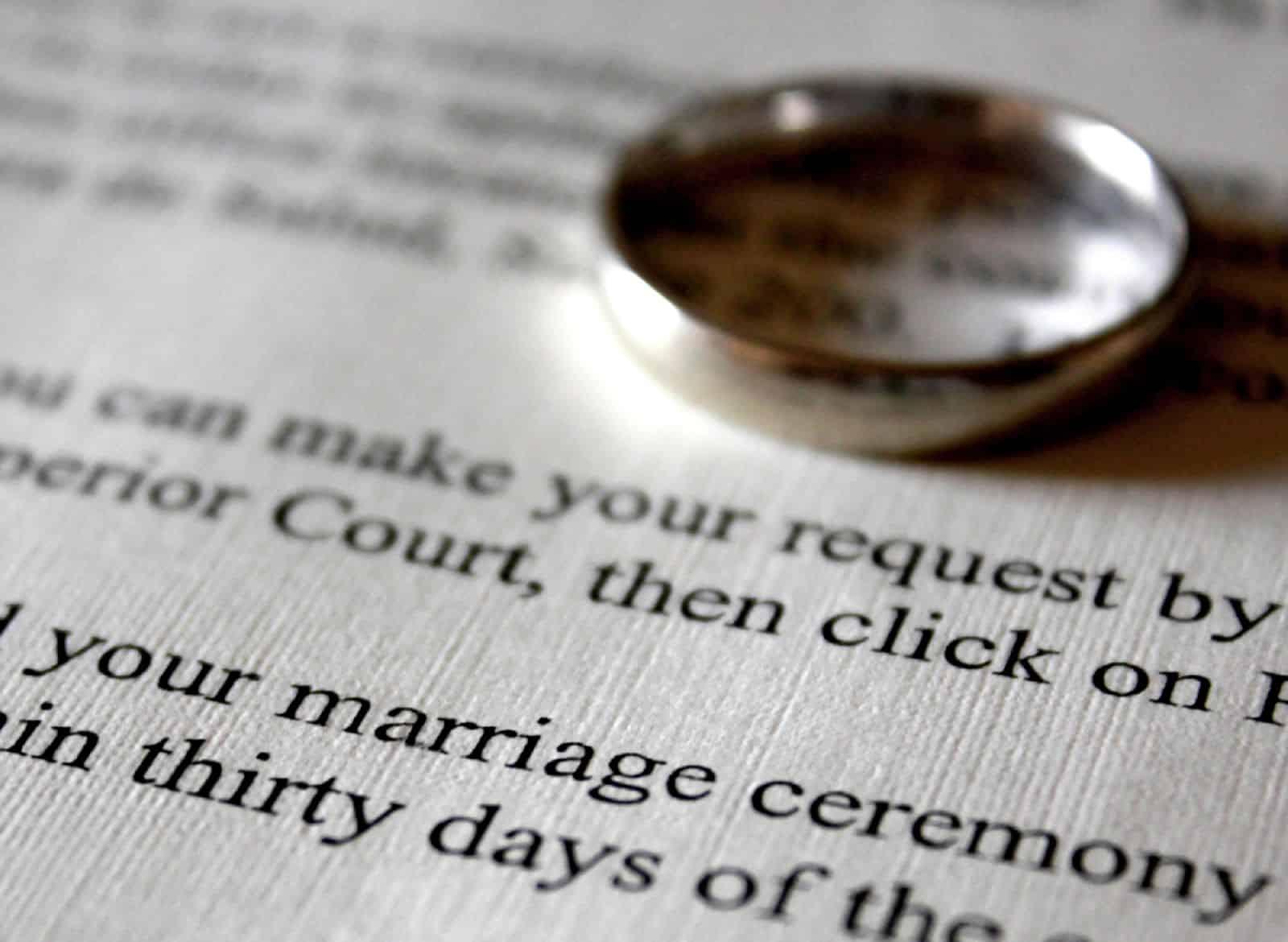 Что делать если утеряно свидетельство о браке