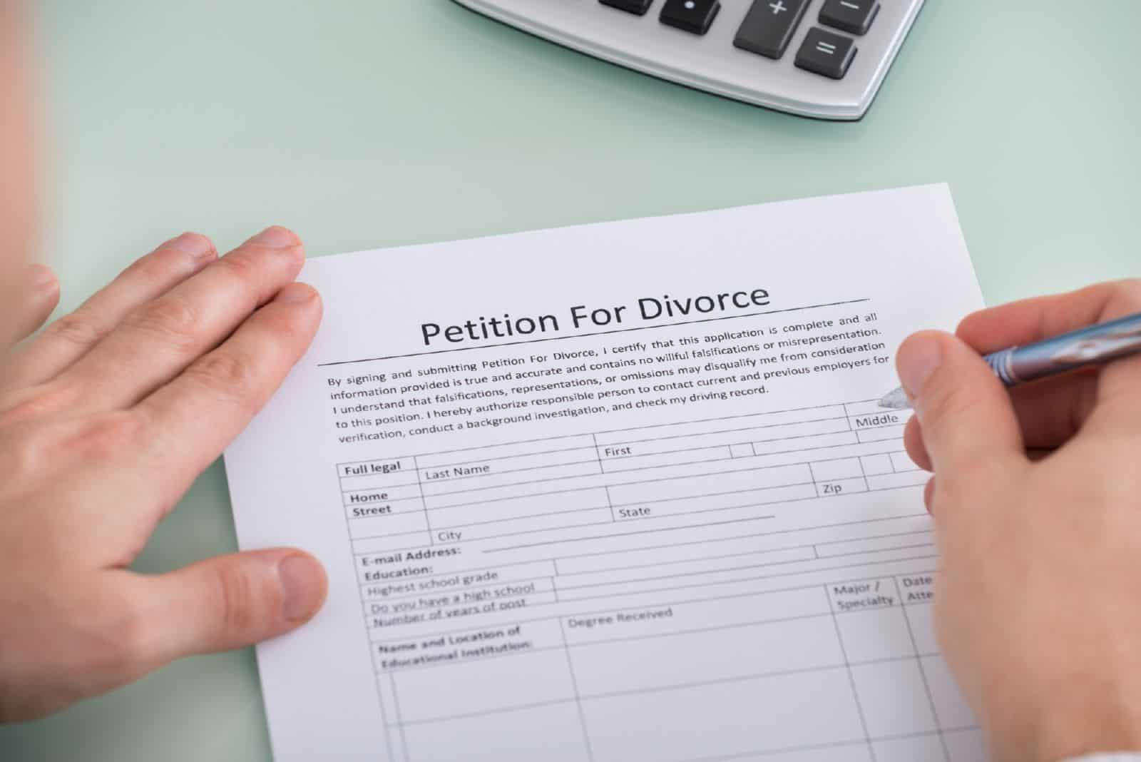 заявление на развод образец 2017 через загс