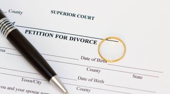 заявление на развод в мировой суд бланк