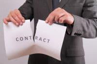 прекращение договора аренды земельного участка