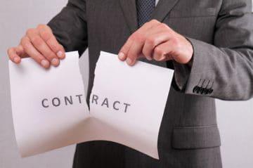 расторжение договора купли-продажи