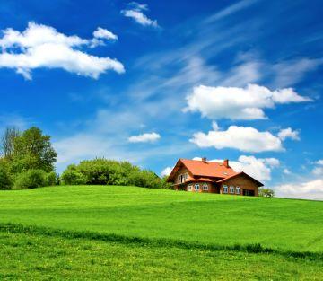 покупка земли с домом