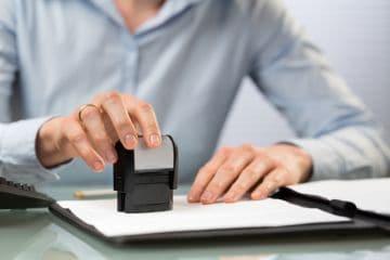 печать на документах