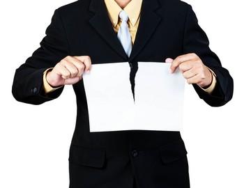 Расторжение контракта в одностороннем порядке по 44-ФЗ