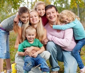 Льготы многодетным семьям: признание семьи многодетной, виды льгот