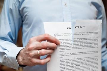 Срок для возврата исполнителем денежных средств потребителю при отказе потребителя от договора