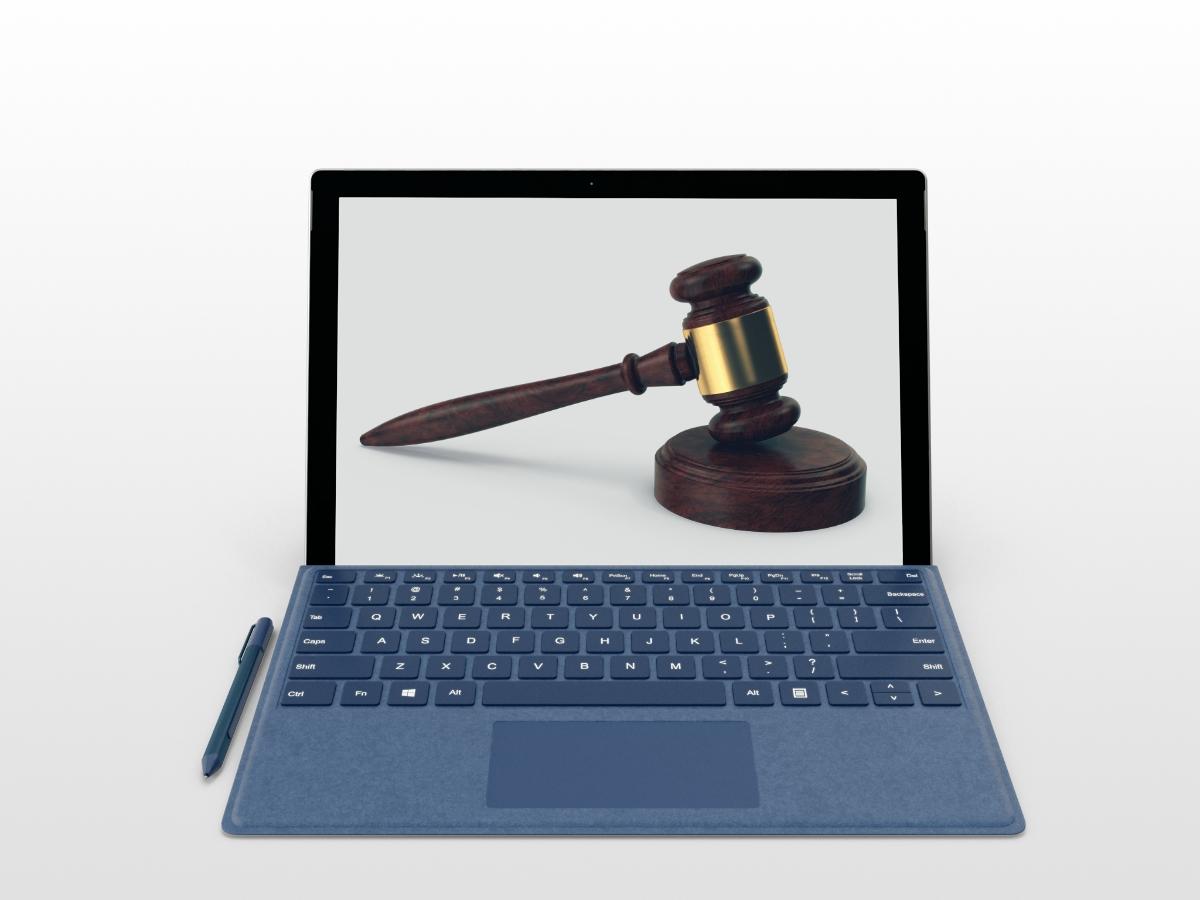 Как подать заявление в суд онлайн режиме